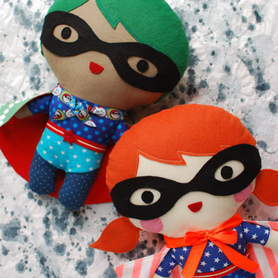 How to make a superhero softie 400px