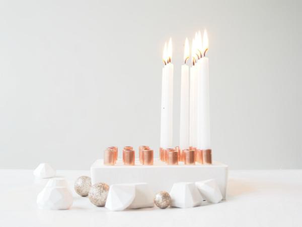 Happy Birthday Candleholder Digits