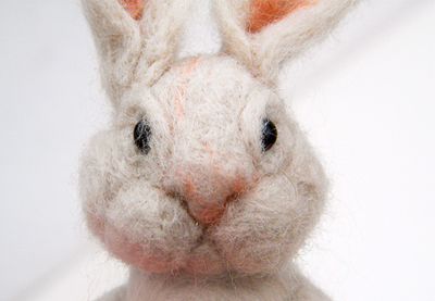 Preview for How to Make a Cute Needle-Felted Bunny for Easter