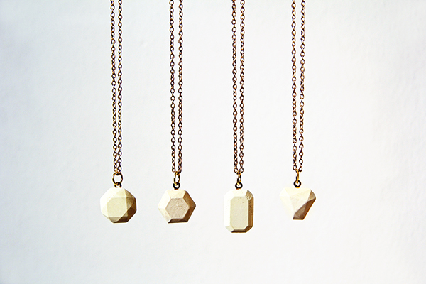How to Make Dyed Concrete Gemstone Pendants