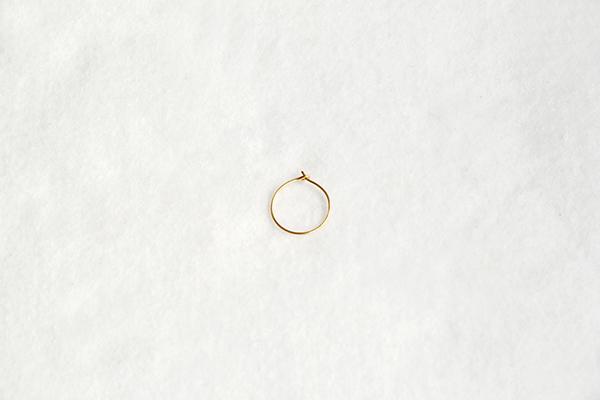 hoop earring circle hoop