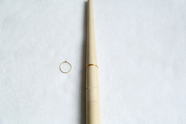 hoop earring ring mandrels