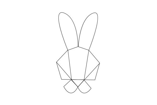 Geo Bunny Templatepdf
