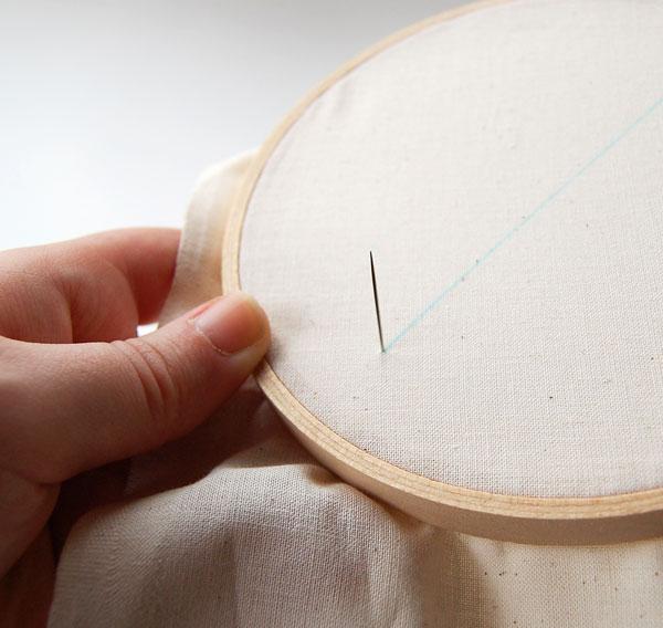 begin stitch