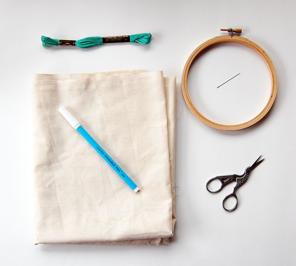 chain stitch supplies