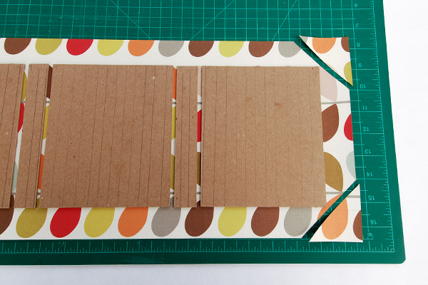 How To Make A Book Cover With Gift Wrap : How to make a wrap around book cover