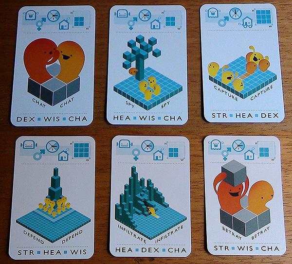 Game Seeds meta card game for designing video games