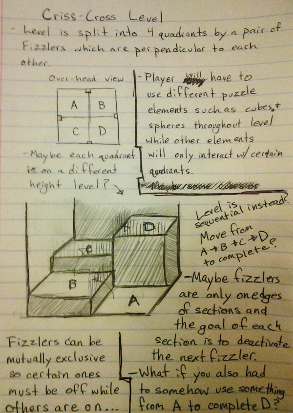These are notes I put together while working on a level idea I'll be making in a future article.