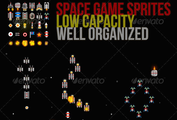 10 Great Full Game Sprite Sheets From GraphicRiver