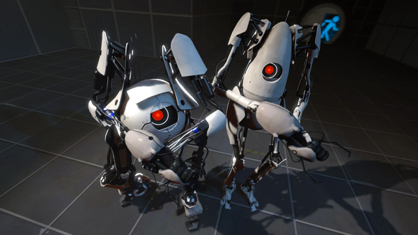 "Portal 2 featured a co-op multiplayer story mode that was entirely different from the ""main"" single-player mode."