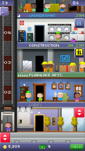 This is an image from Nimblebit's game Tiny Tower. While their art style is simplistic, it was easy for them to execute and allowed them to have a lot of different variations and possibilities easily.