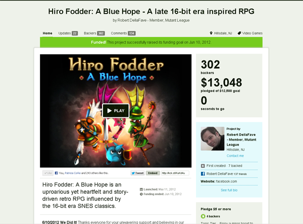 Kickstarter A great way to make money and friends
