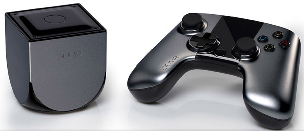 Ouya Console and Controller