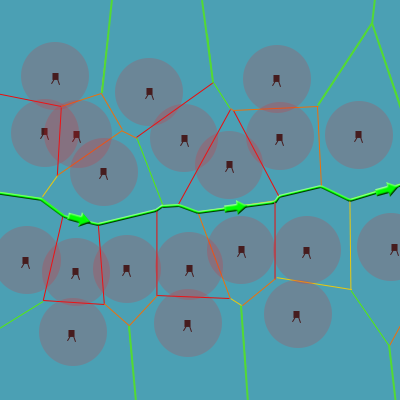 Preview for How to Use Voronoi Diagrams to Control AI