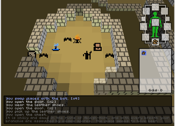 Wayfarer a 3D roguelike currently in development