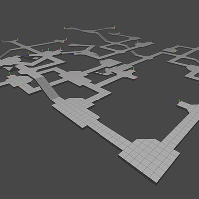 Procedural content generation 3d dungeon maps 400px