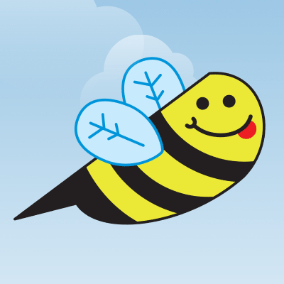 Buzzy bee flappy bird game tutorial gamesalad 400px
