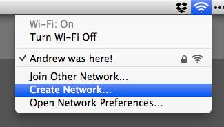 Wi-Fi Menubar Icon
