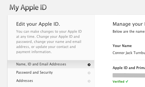 how do i change my apple id on my iphone protecting your apple id with two step verification 6875