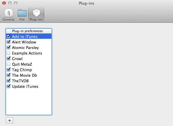 Switch on Add to iTunes plugin for automatic importing
