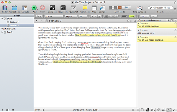 papers scrivener research How i use scrivener for academic writing  it links to scrivener so basically i keep all research - journal articles, book chapters, online pages, etc in.
