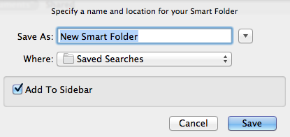 "Select the ""Save to sidebar"" option for easy access."