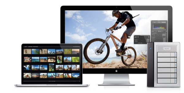 Thunderbolt can be used for both displays and devices such as storage solutions