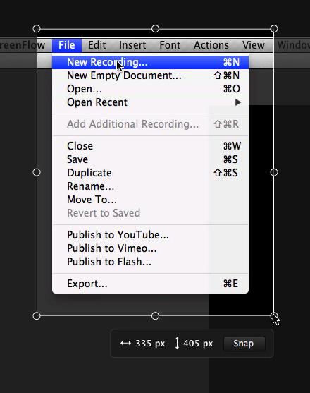 how to take snip screenshot computer mac