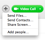 Skype has its own solution to sharing your screen.