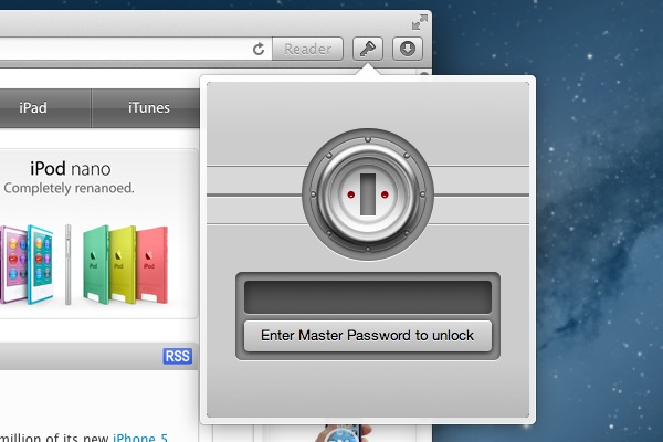 1Password Browser Extension