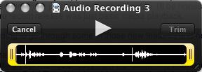 Audio Trim