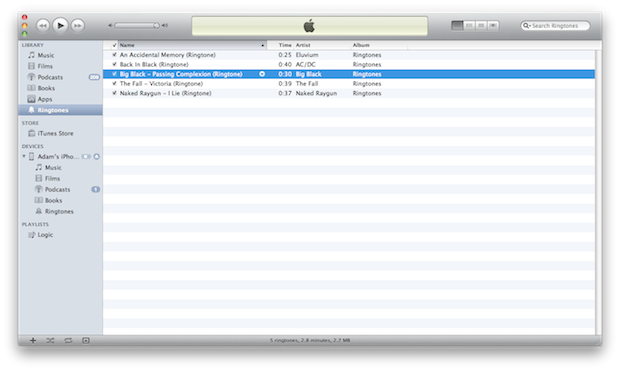 how to get a song on itunes as your ringtone
