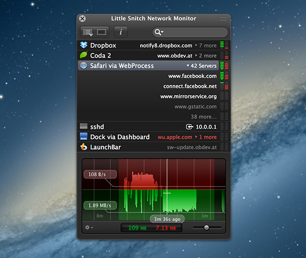 LittleSnitch Network Monitor