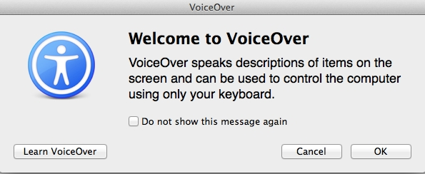 Voice Over speaks to you