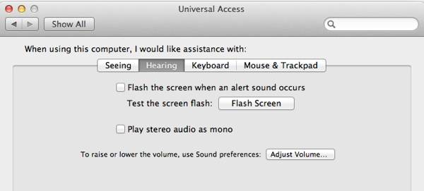 Having hearing problems? These settings will help you interact better with your Mac
