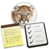 Mountainlion reminders notes