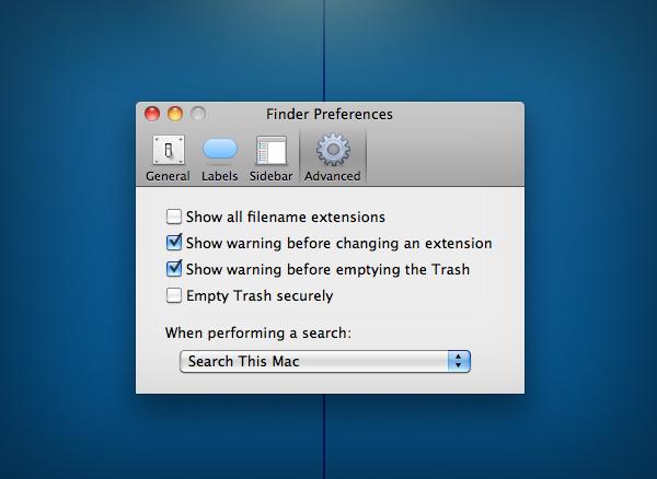 Set The Default Behavior For Emptying The Trash In Finder