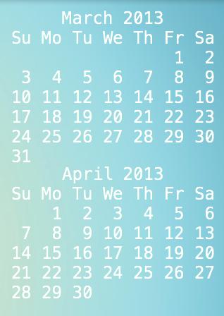 how to get a calendar on your desktop