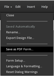 Save your PDF when you're done.