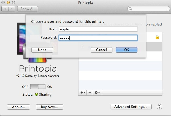 You can password protect printers to prevent just anyone using them