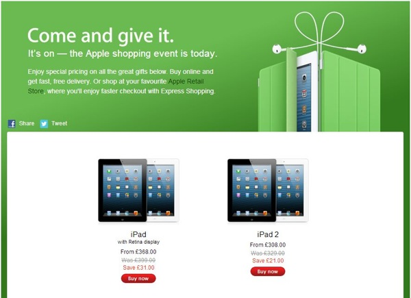 Black Friday - Apple's one day sale