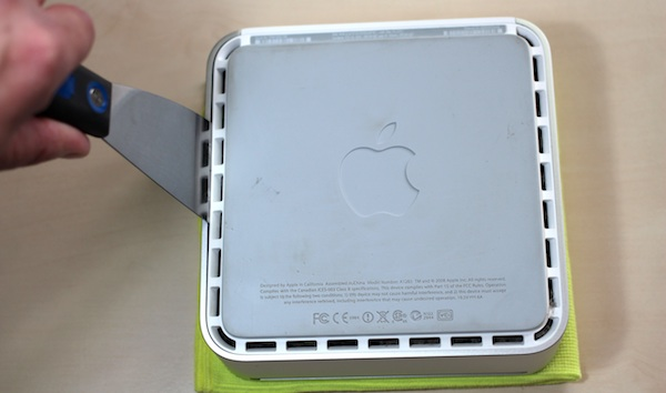 Opening your Mac mini