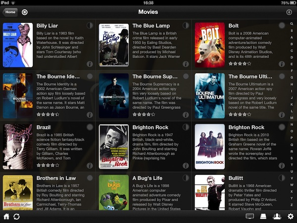 Plex Server allows you to stream video and audio to iOS devices - even content in formats that iTunes won't play.