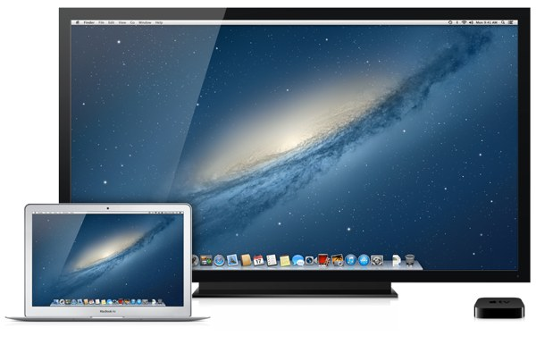 AirPlay Mirroring lets you mirror your Macs display on your TV