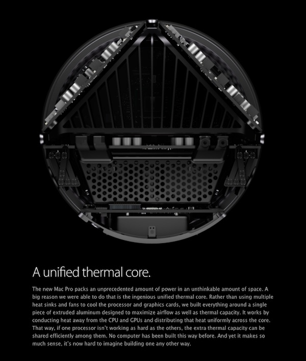 Mac Pro thermal core