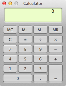 The Basic calculator has nothing on OS X's Scientific one.