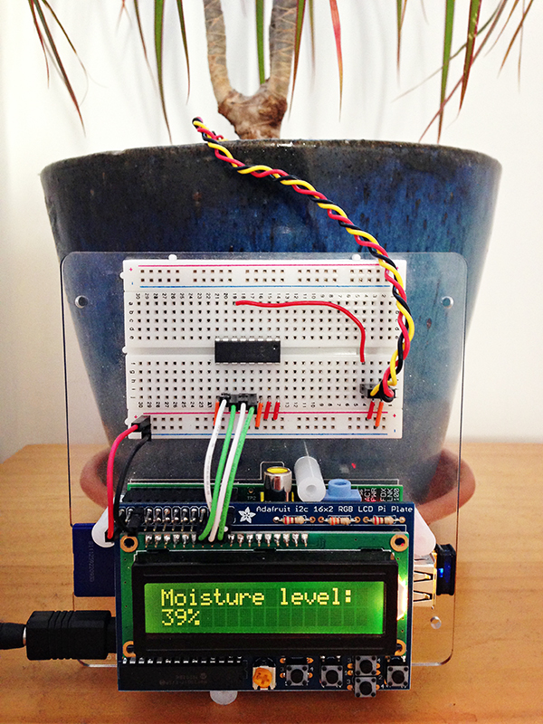 Build a Raspberry Pi Moisture Sensor to Monitor Your Plants