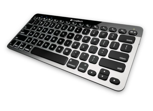 Logitechs K811 keyboard is a suitable alternative to Apples own wireless offering providing Bluetooth connectivity but with some additional features not found on the Apple model