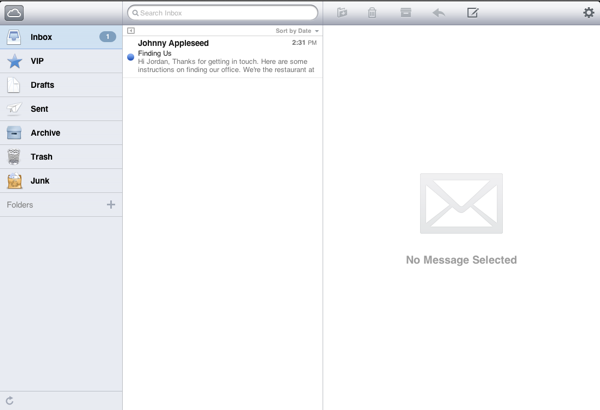 iCloud modelled their webmail interface very much on Mail from Mac OS X.