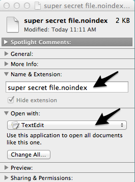 You'll need to edit the file's info to reliably change the extension.